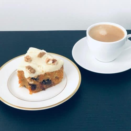 Gluten Free Carrot Cake. A recipe by It's Not Complicated Recipes.
