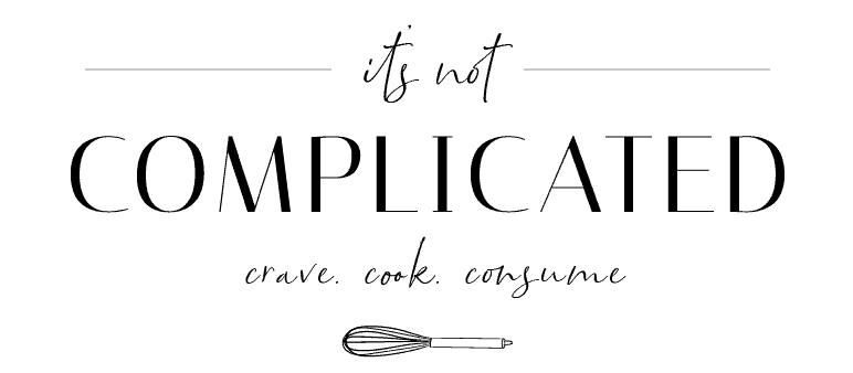 It's Not Complicated Recipes