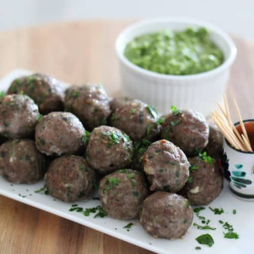 Oven Baked Beef Meatballs – Gluten Free Option. A recipe by It's Not Complicated Recipes.