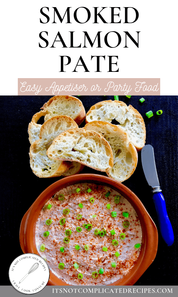 Smoked Salmon Pate #smokedsalmonpate #easydiprecipes