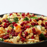 Quinoa, Mandarin and Spinach Salad. A recipe by It's Not Complicated Recipes.