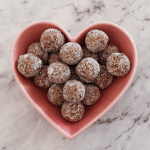 Salted Caramel Bliss Balls – Vegan and Gluten Free. A recipe by It's Not Complicated Recipes.