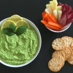 Easy Pea and Mint Dip. A recipe by It's Not Complicated Recipes.