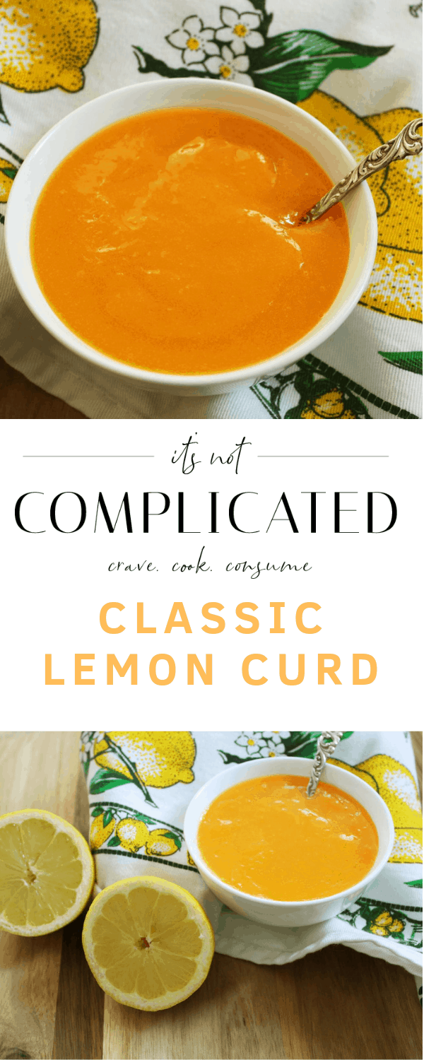 The Best Lemon Curd – Gluten Free. A recipe by It's Not Complicated Recipes.
