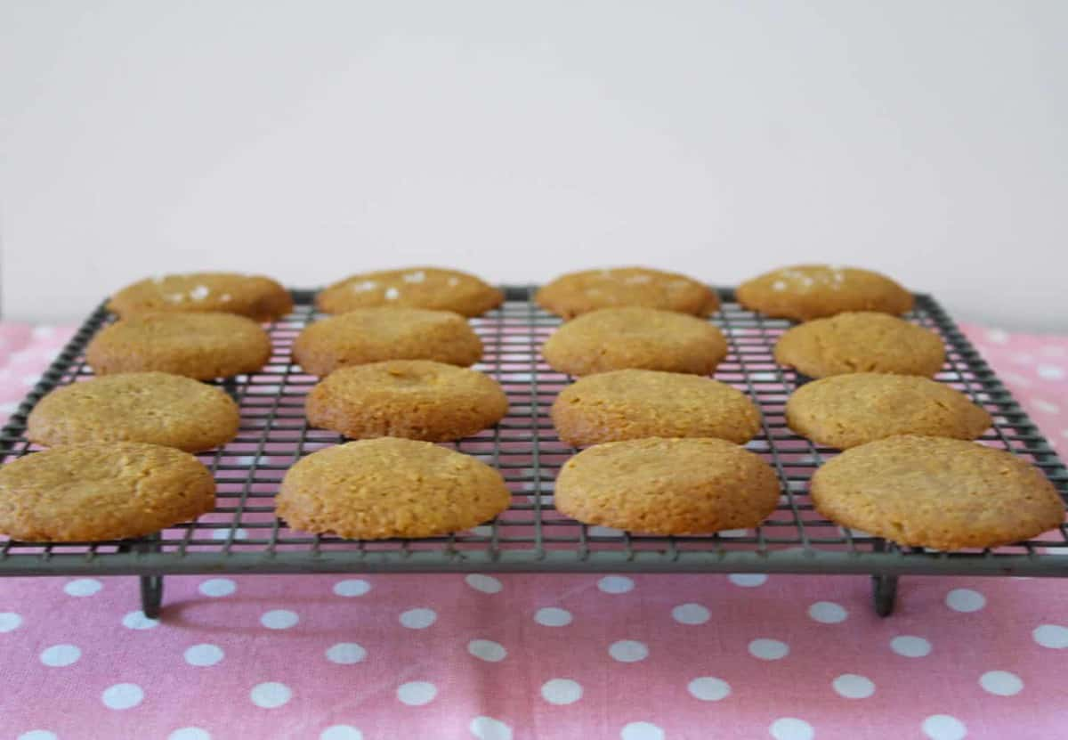 Gluten-Free Caramel Cookies. A recipe by It's Not Complicated Recipes.