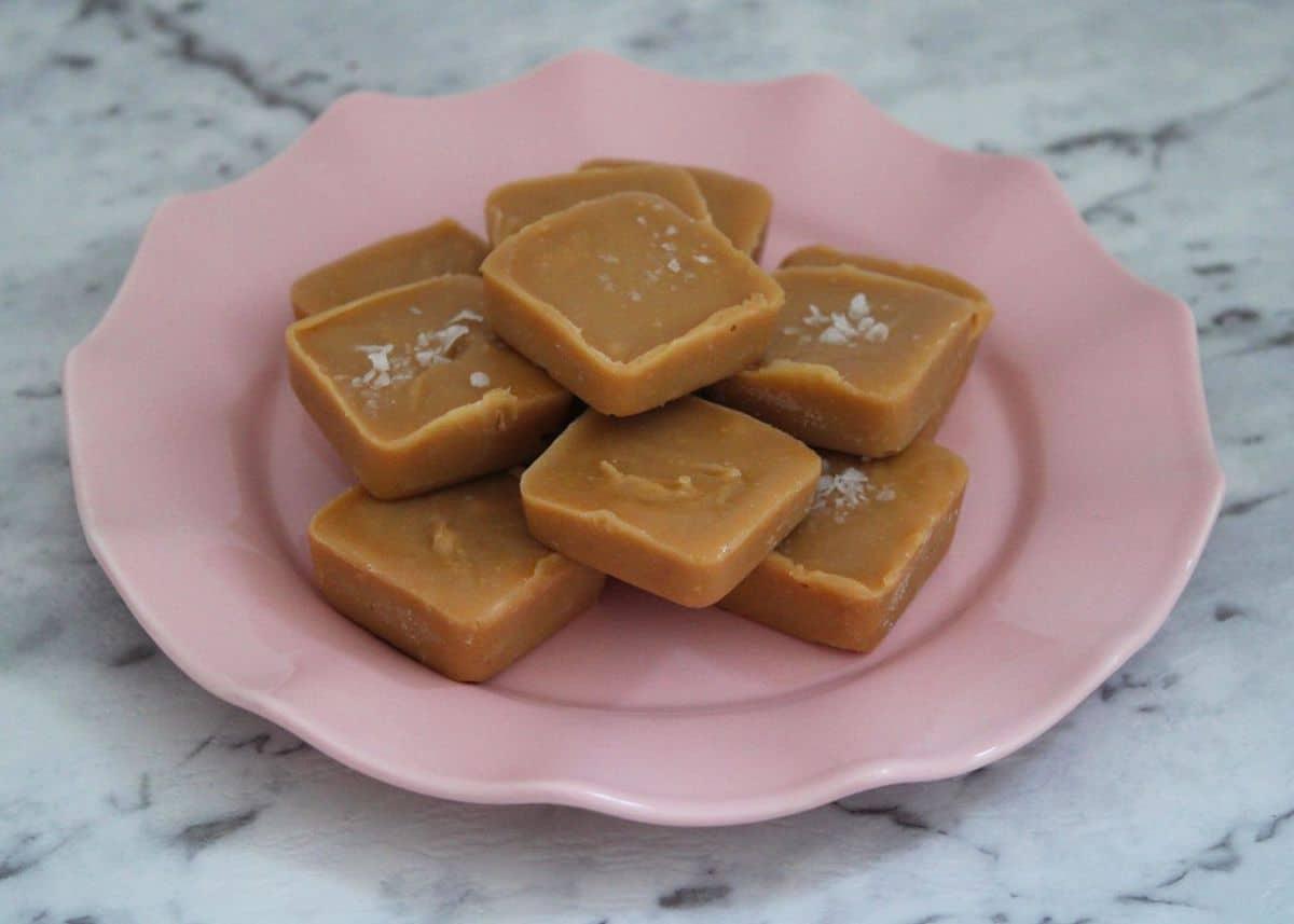 Vegan Peanut Butter Freezer Fudge. A recipe by It's Not Complicated Recipes.
