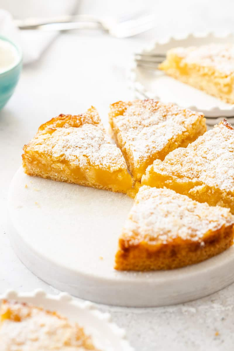 Belgian Lemon Tea Cake
