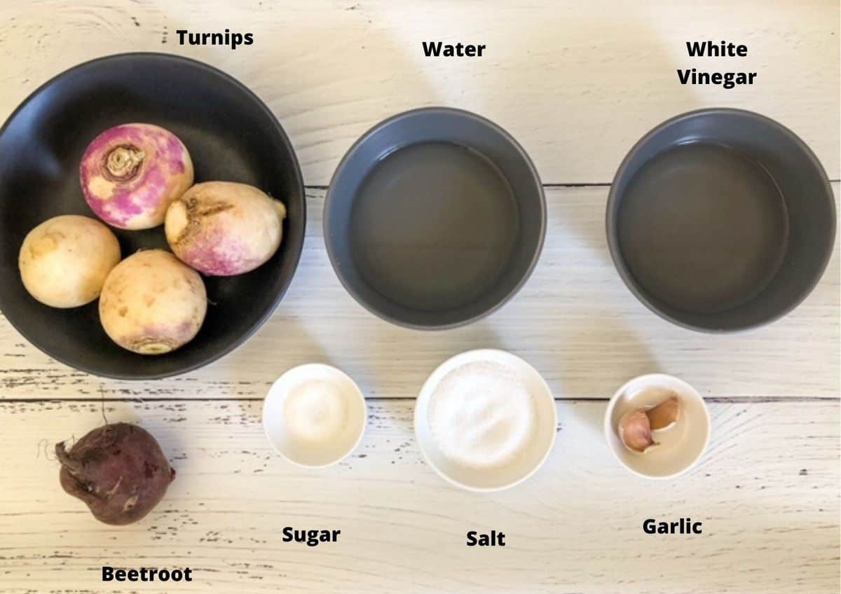 ingredients used to make this recipe on a white background.