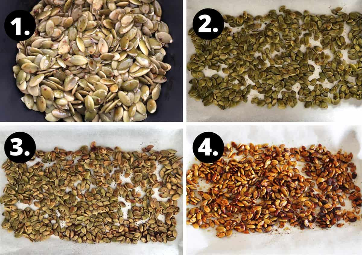 four process shots to prepare this recipe.
