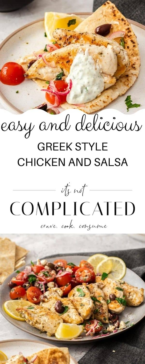 pinterest image, with photos of recipe top and bottom, and text overlay in the centre.