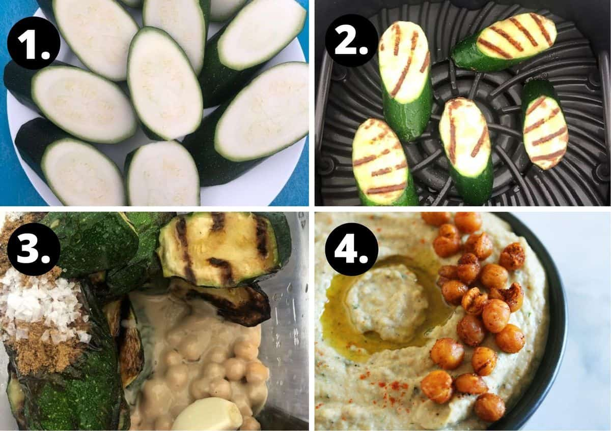 four steps to make this recipe.