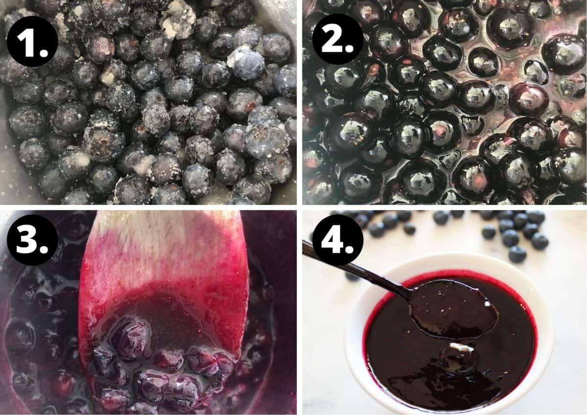 four steps to make this recipe.