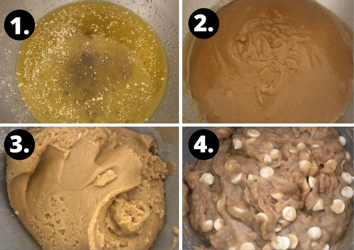 first four steps to prepare this recipe.