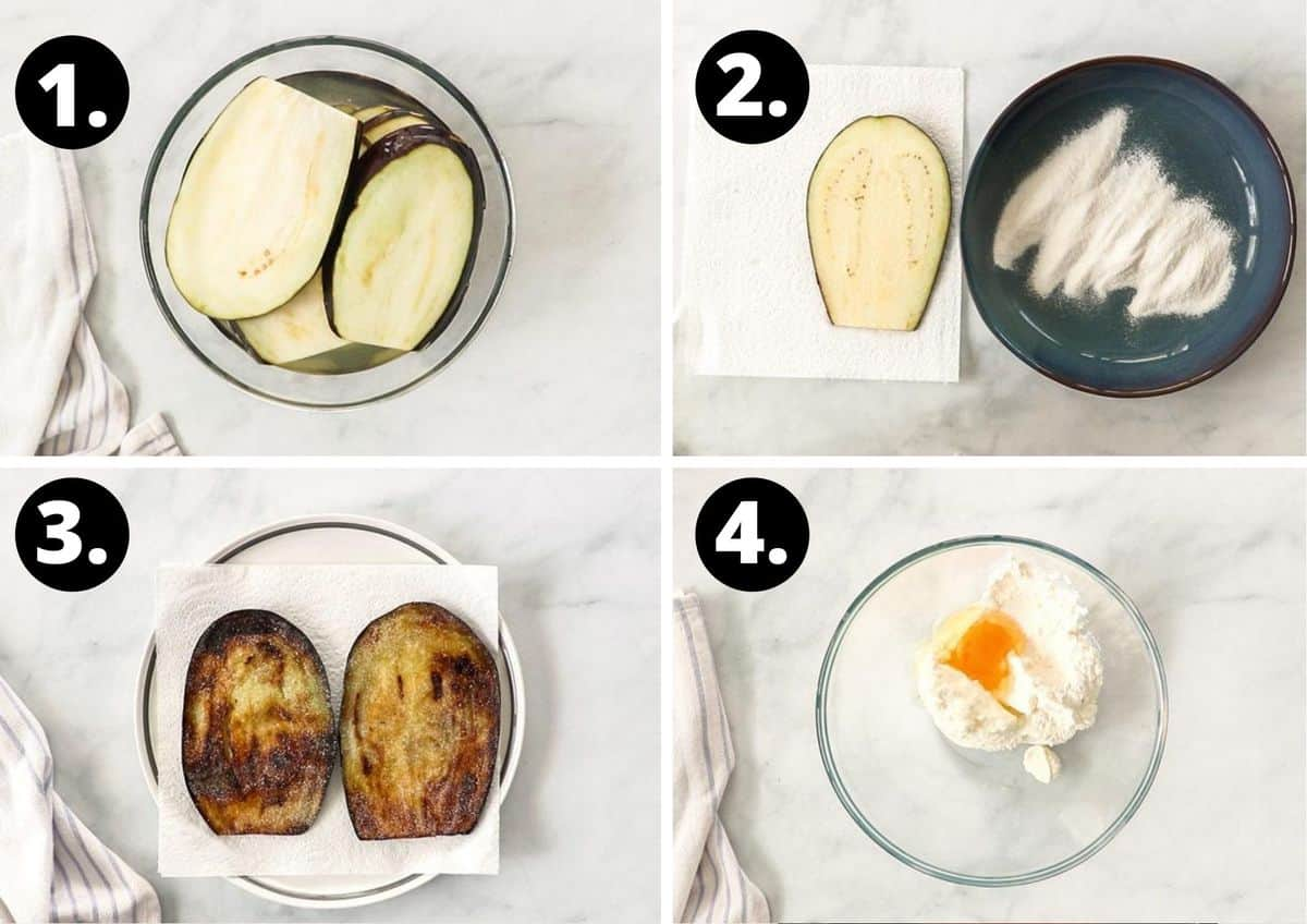 the first four steps to prepare this recipe.