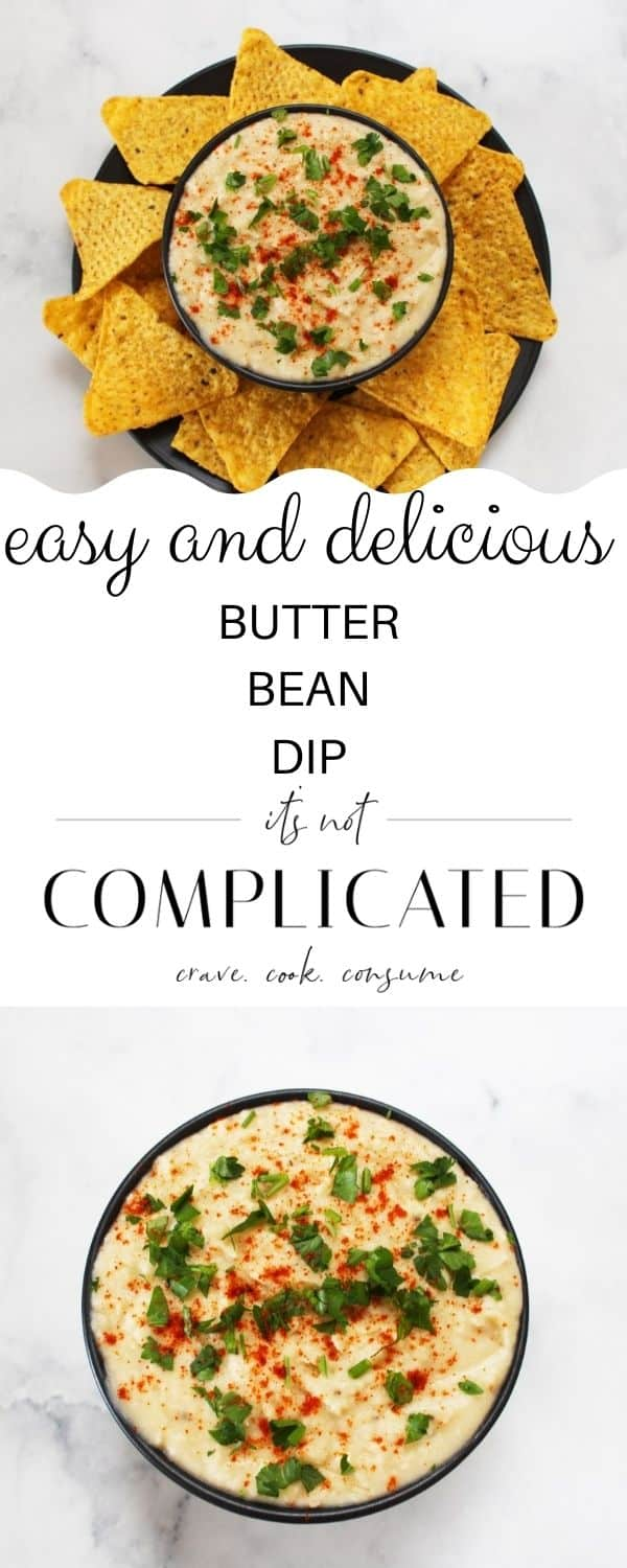 pinterest image with photos of recipe top and bottom and text overlay in the centre.