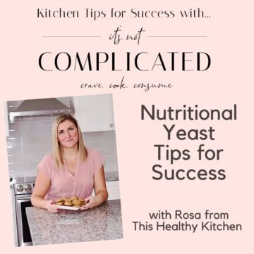Nutritional Tips Poster