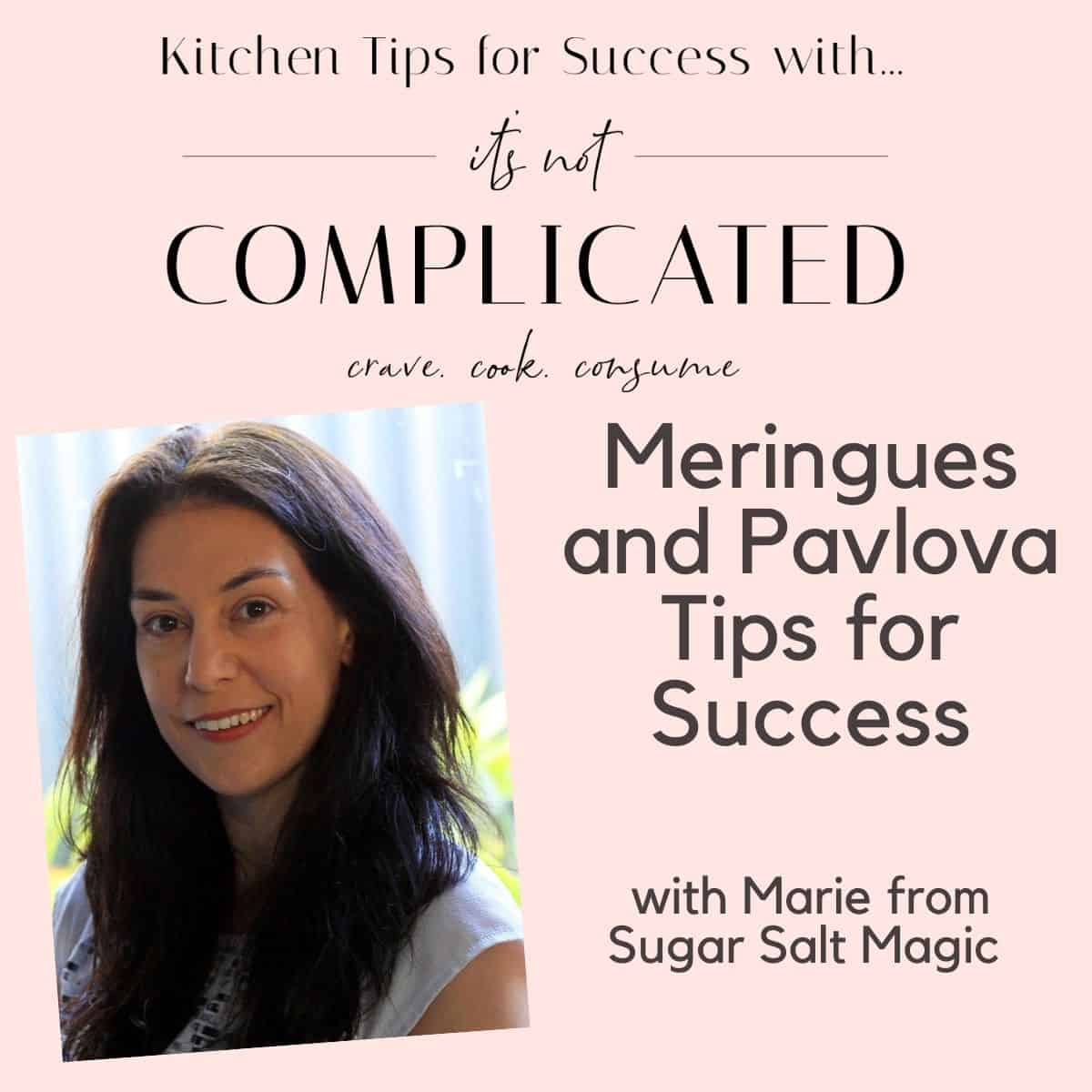 Kitchen Tips for Success Poster with Marie