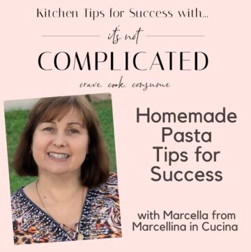 posted of Marcella for Kitchen Tips