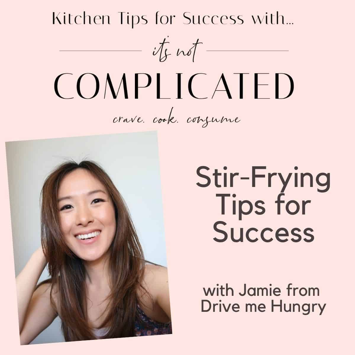 Poster of Jamie for Stir Frying Tips for Success