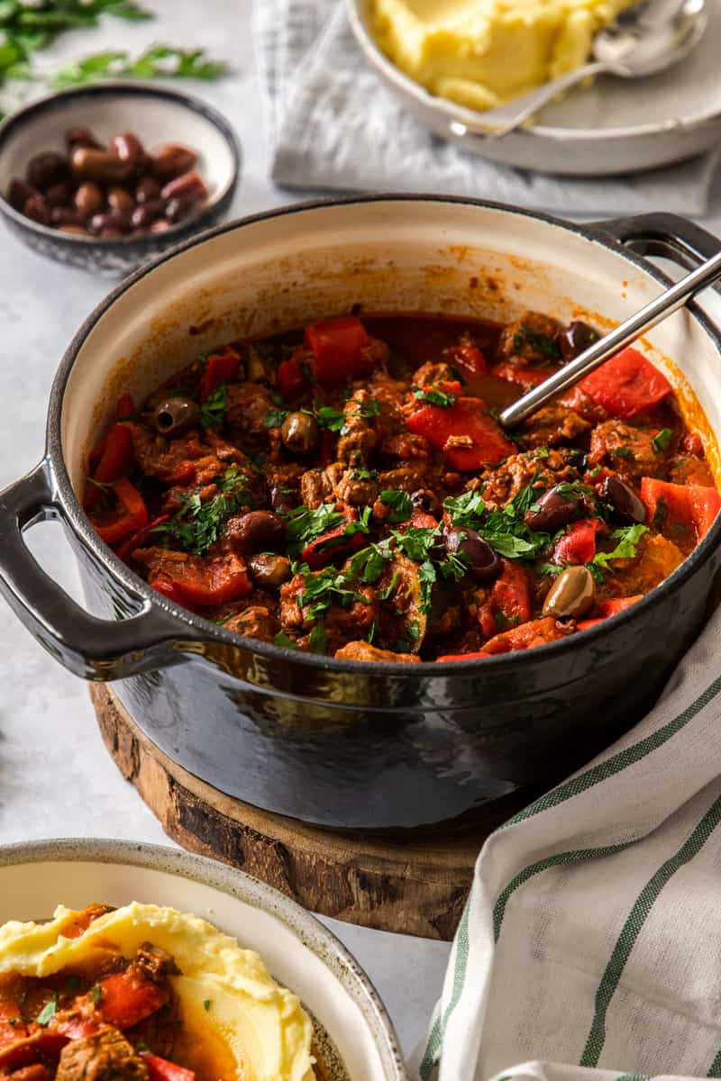 Mediterranean Beef Stew It S Not Complicated Recipes